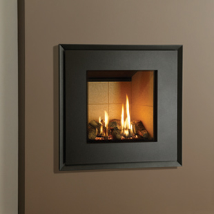 Gazco Riva2 530 with Evoke-Graphite Steel frame